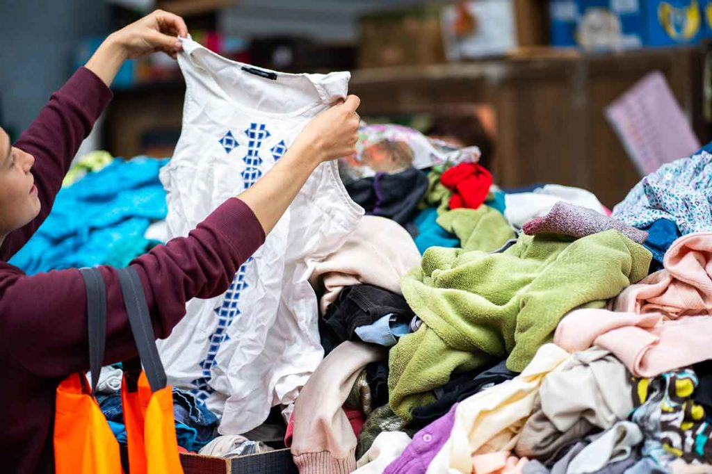 Acheter vêtements seconde main