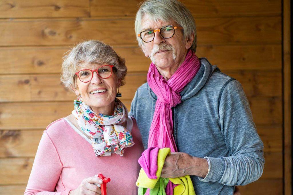 Yvon et Marité ménage écologie