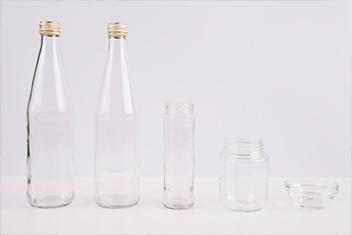 Contenants en verre recyclage