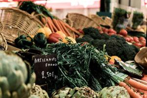 Produits légumes bio locaux