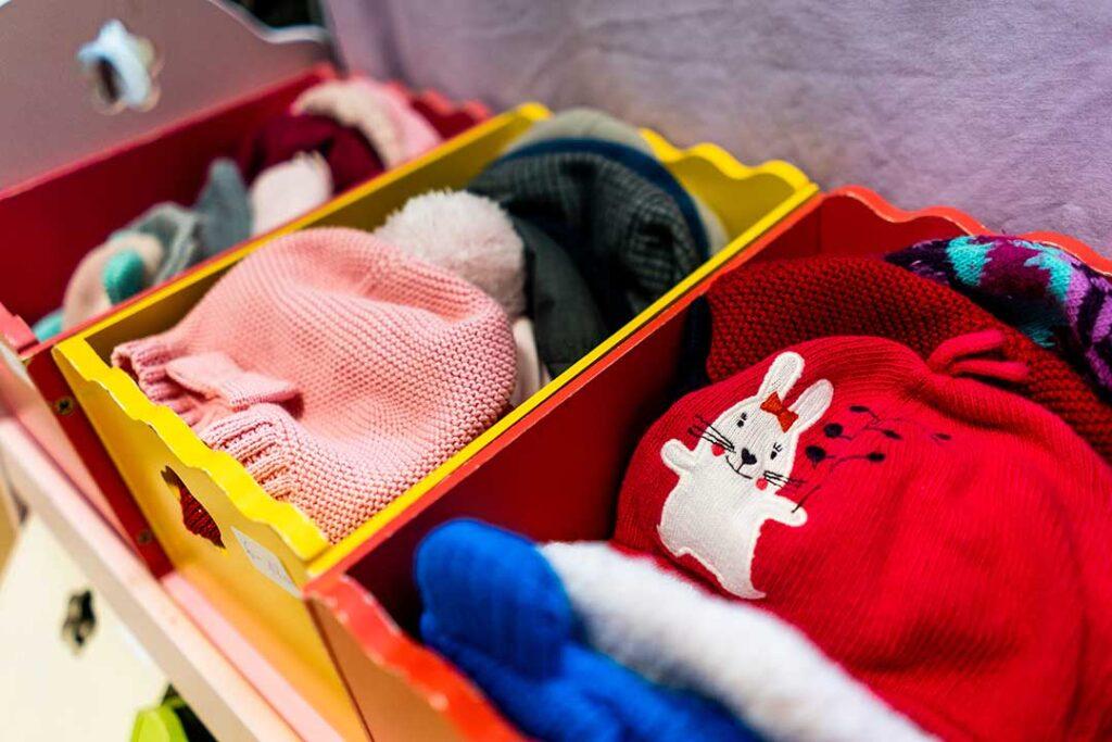 Bonnets pour enfants seconde-main