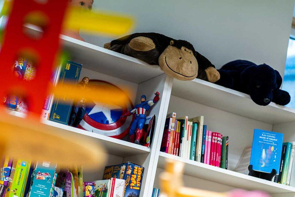 Livres et jouets de seconde-main boutique