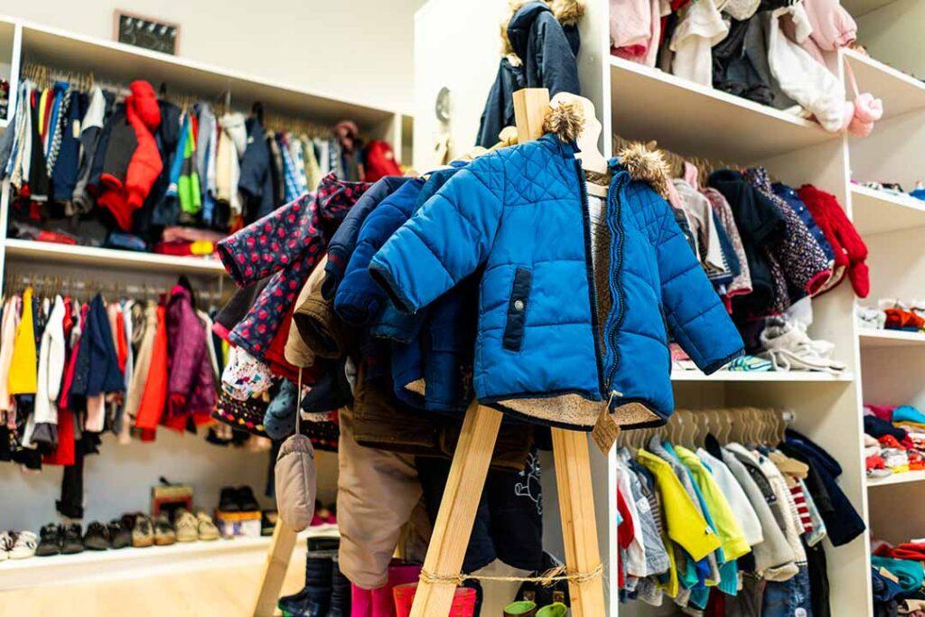 vêtements enfants seconde-main