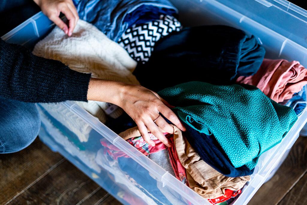 Mode durable vêtements seconde main
