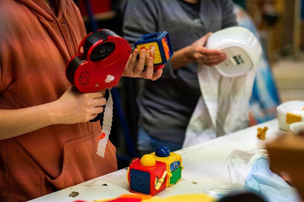 Tri jouet enfants don occasion ressourcerie