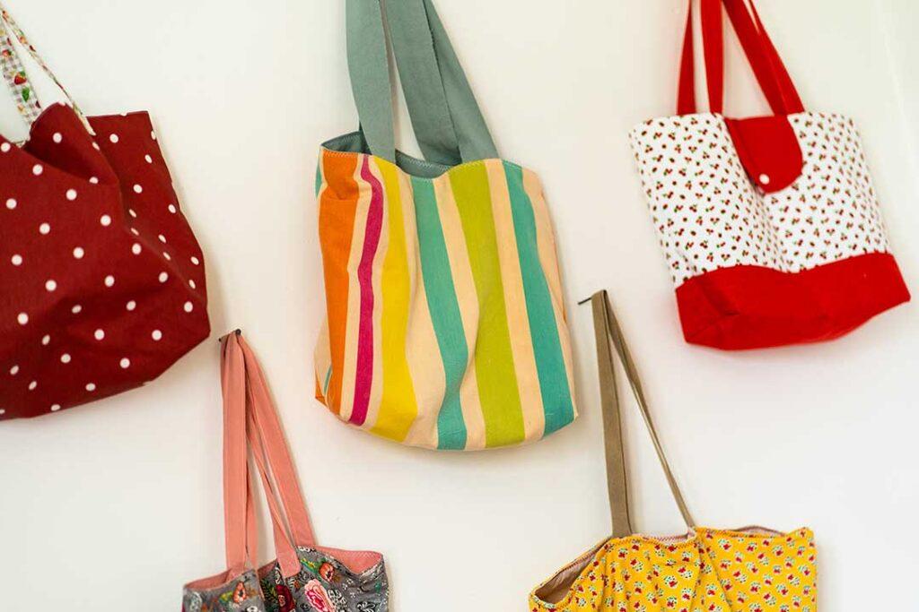 Couture sacs réutilisables