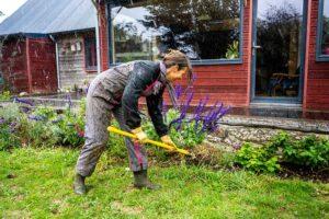 Paillage déchets verts jardin